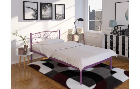 Металлическая односпальная кровать Лилия Tenero