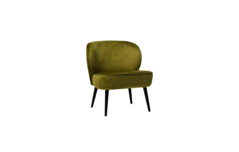 """Кресло """"Фабио"""" зеленый чай вельвет Vetro"""
