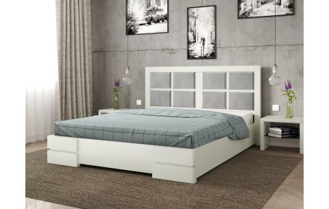 Кровать деревянная Кардинал 2 с мягким изголовьем Arbor Drev