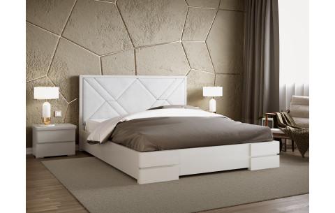 Кровать деревянная Лоренс с мягким изголовьем Arbor Drev