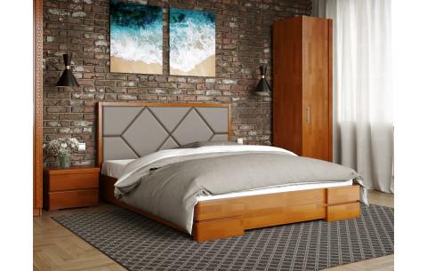 Кровать деревянная Магнолия с подъемным механизмом Arbor Drev