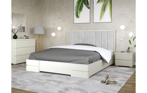 Кровать деревянная Милано с мягким изголовьем Arbor Drev