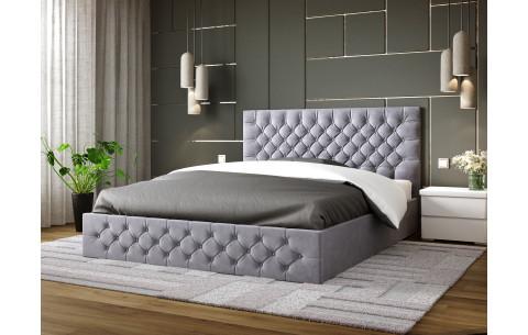 Кровать деревянная Калифорния с мягким изголовьем Arbor Drev