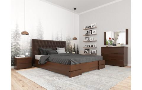 Кровать деревянная Камелия Ромб с подъемным механизмом Arbor Drev
