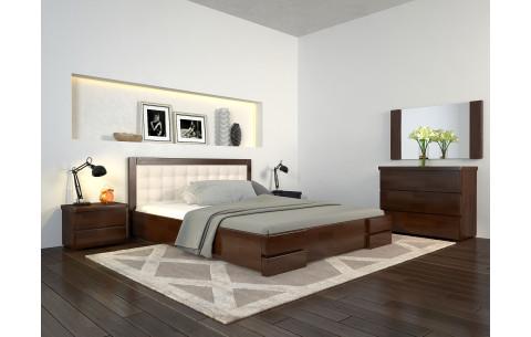 Кровать деревянная  Регина Люкс с подъемным механизмом Arbor Drev