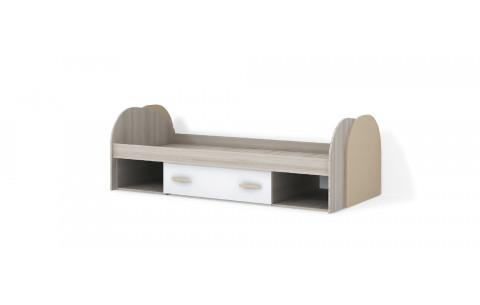 Детская Односпальная Кровать из ДСП, 90х200 см, Nikki / Никки от LUXE STUDIO