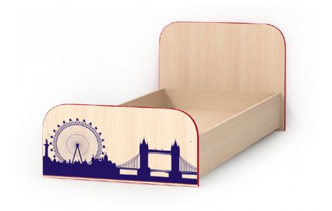 Детская Односпальная Кровать из ДСП, 90х200 см, Tvist (Твист) от LUXE STUDIO