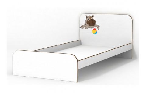 Детская Односпальная Кровать из ДСП, 90х190 см, Joy/Джой без бортика без ящиков  от LUXE STUDIO