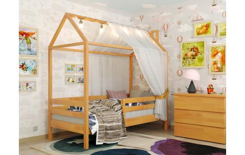 Кровать детская деревянная Домик Джерри Arbor Drev