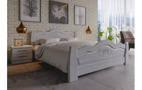Деревянная кровать Корона ЧДК