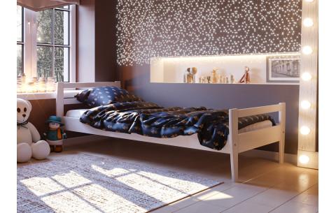 Детская деревянная односпальная кровать Алиса ЧДК
