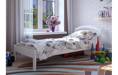 Детская деревянная односпальная кровать Юлия ЧДК