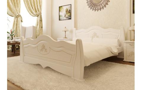 Деревянная кровать Мальва ЧДК