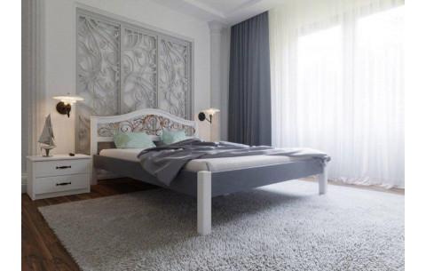 Деревянная кровать Италия Ковка -Комби ЧДК