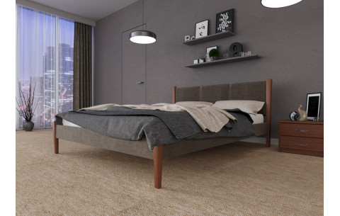 Деревянная кровать Сеул ЧДК