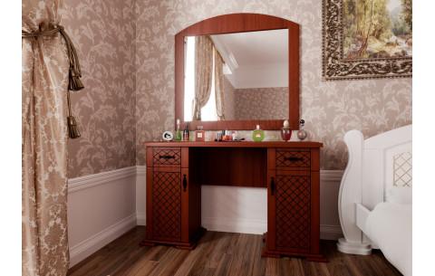 Туалетный столик Женева с зеркалом ЧДК