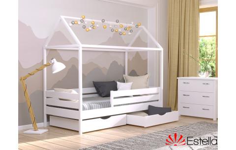 Деревянная кровать домик Амми  Эстелла