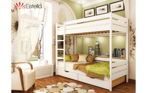 Двухъярусная деревянная кровать Дуэт  Эстелла