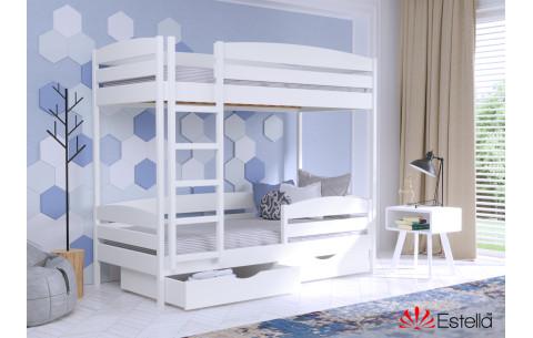 Двухъярусная деревянная кровать Дуэт Плюс Эстелла