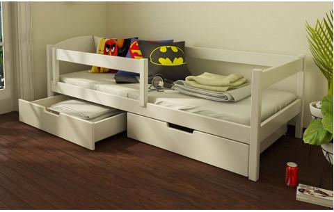 Кровать односпальная детская (подростковая) Мартель Luna