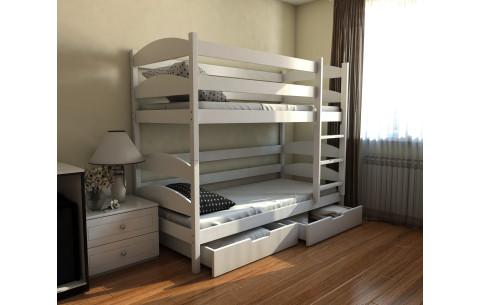Двухъярусная деревянная кровать- трансформер Лакки Luna