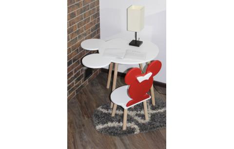 Детский сет LUNA стол+стул Mikky