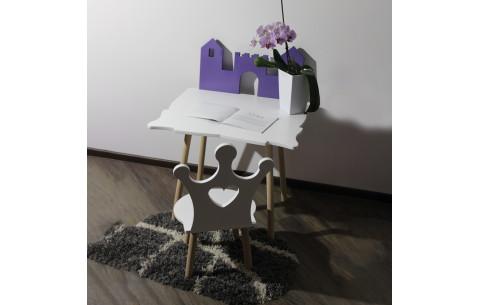 Детский сет LUNA стол+стул Princess