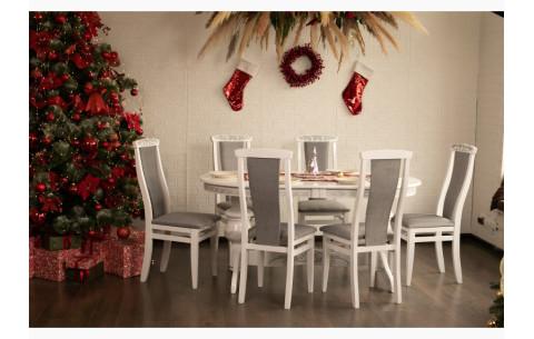 Комплект кухонный: Стол Лео + стулья Марэк 4 Марко
