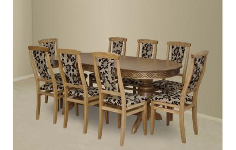 Комплект кухонный: Стол Лео + стулья Марэк 2 Марко