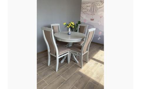 Комплект кухонный: Круглый стол Едельвейс + стулья Марек 4 Марко
