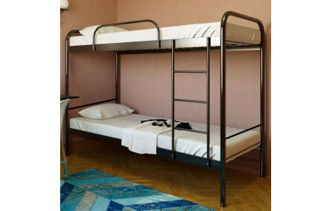 Двухъярусная металлическая кровать Relax DUO 2/Релакс Дуо 2 Метакам