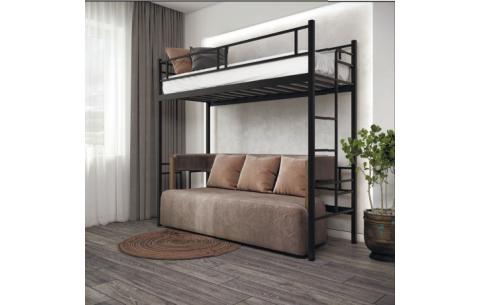 Кровать-чердак Дабл Металл-Дизайн