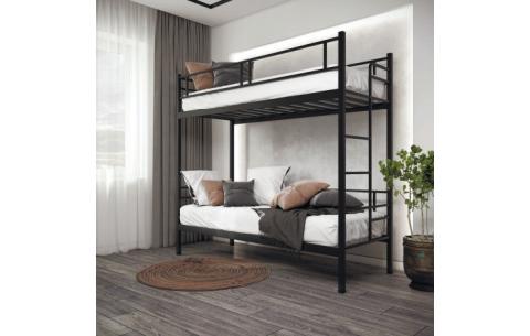 Двухъярусная металлическая кровать Дабл Металл-Дизайн