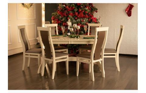 Комплект кухонный: стол Версаль + стулья Марэк 3 Марко