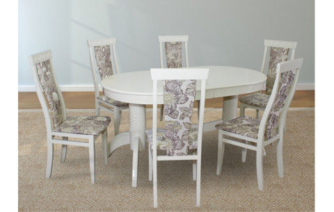 Комплект кухонный: стол Версаль + стулья Миран Марко