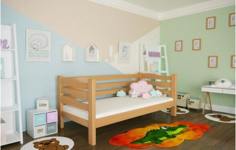 Детская деревянная односпальная кровать Делиция