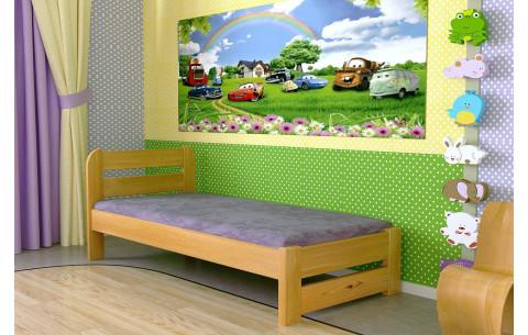 Деревянная односпальная кровать Престиж