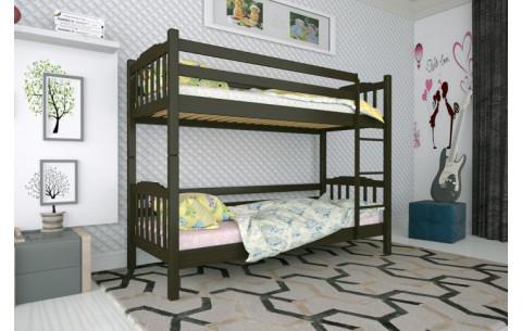 Двухъярусная деревянная кровать трансформер  Ника