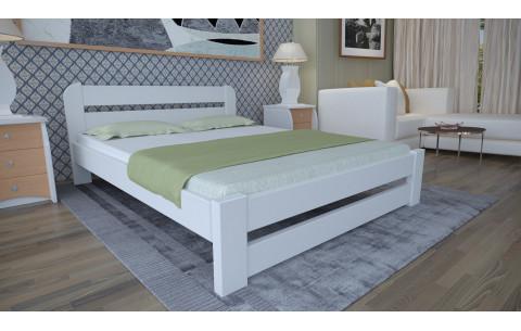 Деревянная двуспальная кровать Престиж