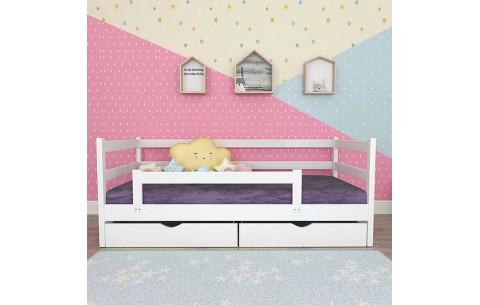 Детская деревянная односпальная кровать Темка