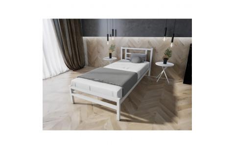 Металлическая односпальная кровать Берта Melbi