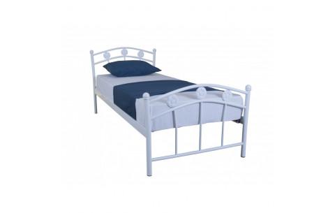 Металлическая односпальная кровать Чемпион Melbi