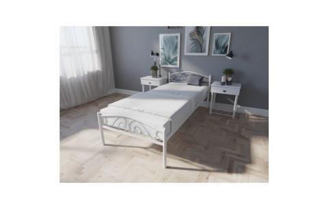 Металлическая односпальная кровать Элис Люкс  Melbi