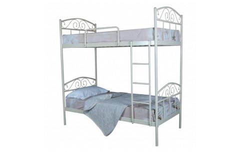 Металлическая двухъярусная кровать Элис Люкс Melbi