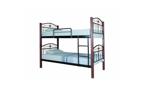 Металлическая двухъярусная кровать Элизабет  Melbi