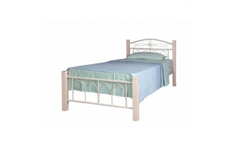 Металлическая односпальная кровать Элизабет Melbi