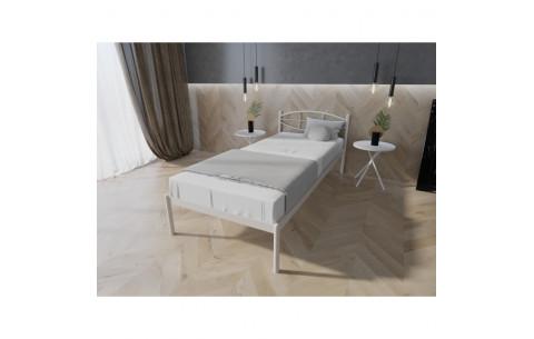 Металлическая односпальная кровать Лаура Melbi