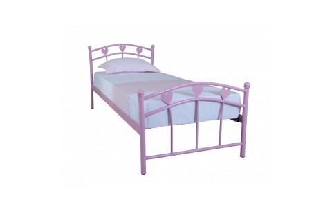 Металлическая односпальная кровать Принцесса  Melbi