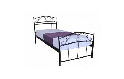 Металлическая односпальная кровать Селена Melbi