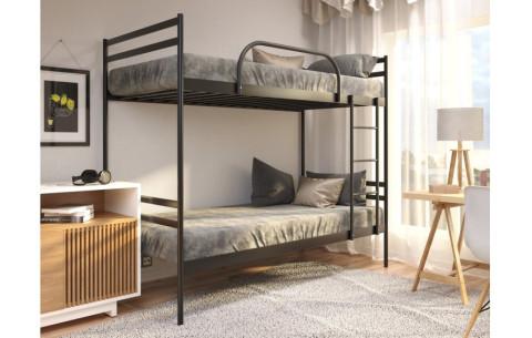 Двухъярусная металлическая кровать Comfort Duo (Комфорт Дуо) Метакам